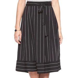 2/$20! Banana Republic Striped Midi Skirt
